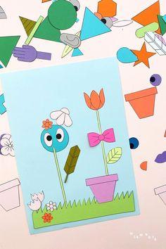 Mit der neuen Kinder Collage Vorlage zum Ausdrucken seid ihr super ausgestattet für eine wilde und fantasievolle Kreativreise ins Collage-Paradies. Ob damit bunte Bilder zum Einrahmen als Deko für das Kinderzimmer entstehen, lustige Einladungen zum Kindergeburtstag, oder witzige DIY Geschenke für Freunde und Familie – die Möglichkeiten mit den Formen und Figuren sind unendlich! Jetzt loslegen! #wlkmndys #bastelnmitkindern #diyideen #basteln #diy Wilde, Super, Printables, Blog, Creative Ideas, Kids Collage, Printable Templates