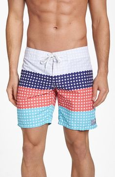 c8d6398bbe @Terence Mcfarland Mcfarland Mcfarland Yip ambsn Dot Pattern Board Shorts  available at #Nordstrom Men