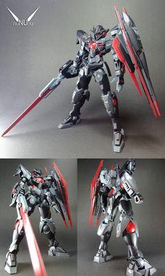 """HG 1/144 Quanta """"DARK HORIZON"""" Custom Build - Gundam Kits Collection News and Reviews"""