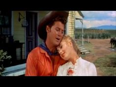 """Oklahoma"" which starred Gordon MacRae and Shirley Jones. Classic Rodgers and Hammerstein songs ""Oh What a Beautiful Morning,"" ""The Surrey With The Fringe on Top,"" ""People Will Say We're In Love,"" and ""Oklahoma ! Beautiful Morning, Beautiful Songs, Oscar Wilde, Good Music, My Music, Shirley Jones, Music Film, Old Movies, Classic Movies"