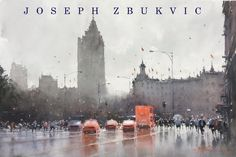 Joseph Zbukvic welcomes you to his watercolour site with galleries, events, exhibitions, materials, DVD's