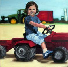 oil on canvas | Aviva BROOKS © Aviva Brooks | more on www.bOssa-talents.com