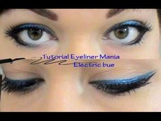 Video Tutorial eyeliner mania: Electric blue