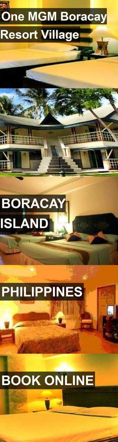 Hotel One MGM Boracay Resort Village in Boracay Island, Philippines. For more information, photos, reviews and best prices please follow the link. #Philippines #BoracayIsland #OneMGMBoracayResortVillage #hotel #travel #vacation