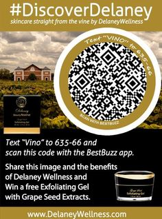 Help others discover @DelaneyWellness 2 b entered 2 win an Exfoliating Gel spa #spa #wellness