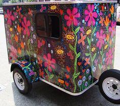 flowery trailer