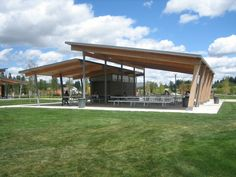 In Situ Architecture — discovery meadows park shelters is part of Architecture design drawing - Designing beautiful high performance buildings for the Northwest Jeff Stern, Licensed Architect and Certified Passive House Consultant Roof Design, Patio Design, House Design, Pavilion Architecture, Architecture Design, Park Pavilion, Backyard Pavilion, Outdoor Pavilion, Pavilion Wedding