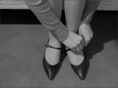 Jean-Luc Godard - Vivre sa vie, 1962 want shoes exactly like this! New Wave Cinema, French New Wave, French Art, Anna Karina, Jean Luc Godard, White Prints, Film Inspiration, Old Soul, Perfect World