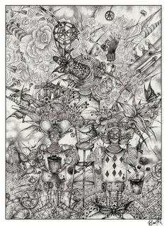 ALICE IN WONDERLAND BY RAMIL ALIYEV