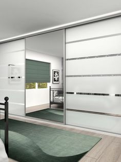 Sliding wardrobe doors Classic 32mm steel