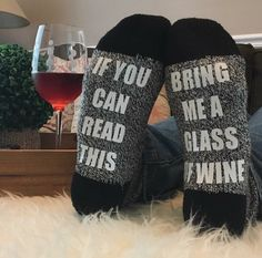Navy Wine Socks 10 by MyDeerestDarling on Etsy