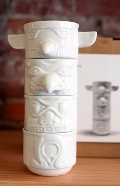 Totem cups reminds me of totem pole game we play @Jill Troutman