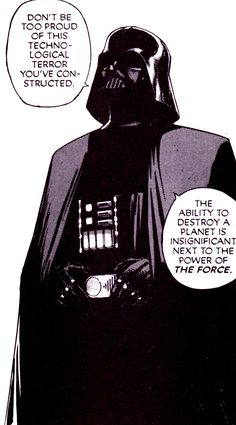 """jthenr-comics-vault: """" The Power Of The Force Star Wars: A New Hope Manga Vol. 1 (July Art by Hisao Tamaki Original Script by George Lucas """" Anakin Vader, Darth Vader, Anakin Skywalker, Star Wars Books, Star Wars Art, Starwars, The Force Star Wars, Star Wars Comics, Sith Lord"""