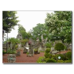 Shop Coral Castle Postcard created by WanderingWonders. Coral Castle Florida, Customized Girl, Enjoy It, Postcard Size, Paper Texture, Vacation, Adventure, Canning, Outdoor Decor