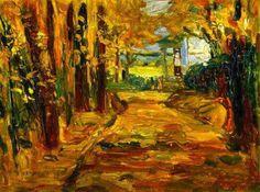 Kandinsky - Parque de San Cloud,  Otoño (1906)