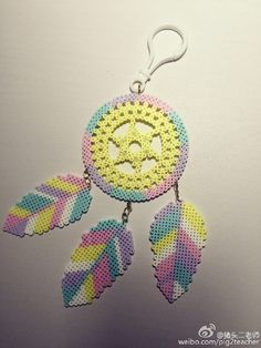 Dreamcatcher perler beads                                                                                                                                                      More