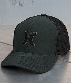 a66bf7500fc Hurley Harbor 110 Trucker Hat - Men s Hats in Black Cyan