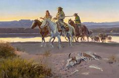 BY CHARLES MARION RUSSELL..........SOURCE BING IMAGES.......