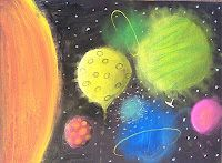 """Planets - """"This lesson is about making a 2D circle into 3D Sphere."""""""