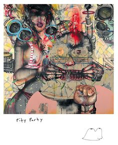 David Choe Pity Party with Munko (2008)