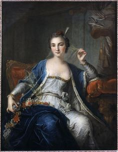 Portrait of Marie Sallé by Louis- Michel Van Loo