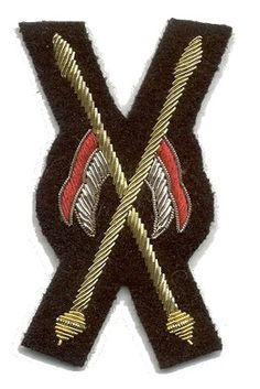 Appointment badge for the Musical Ride, worn on the right sleeve of the Scarlet tunic. Police Badges, Law Enforcement, 4th Of July Wreath, Scarlet, Tunic, Sleeve, Manga, Tunics, Police