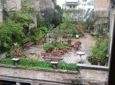 Πάτρα, Ρήγα Φερραίου και Φιλοποίμενος γωνία Roof Garden