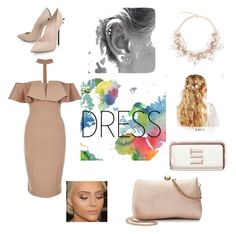 """Contest dress"" by chickenlickenpopcorn on Polyvore featuring WALL, Rare London, Casadei, ASOS, Missguided and LC Lauren Conrad"