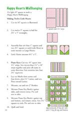 Quilt in a Day - Books - Hugs & Kisses: Eleanor Burns Signature Quilt Pattern