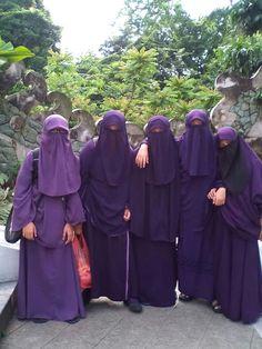 Purple Niqabi team