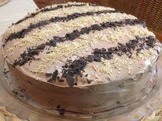 Τούρτα πραλίνα Greek Sweets, Greek Desserts, Party Desserts, Greek Recipes, No Bake Desserts, Cake Recipes, Dessert Recipes, Cake Cookies, How To Make Cake