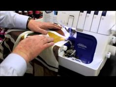 Ken demonstrates the Brother 5234 Project Runway serger by making a few scarves for Mother's Day. Juki Serger, Serger Sewing, Brother 1034d, A Brother, Sewing Hacks, Sewing Tutorials, Sewing Tips, Sewing Ideas, Serger Projects
