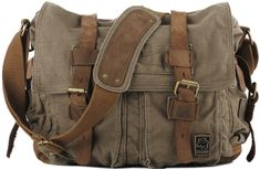 Military Messenger Bag I am so digging the military thing this season!
