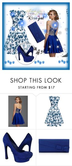 """Rosegal"" by sabahetasaric ❤ liked on Polyvore featuring Clarisse and Yves Saint Laurent"