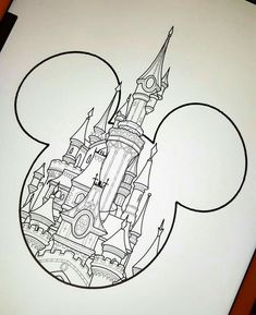 Beautiful Tattoo Trends - March Disney Deal Castle Type 2 £ 120 To this design e . - Beautiful Tattoo Trends – March Disney Deal Castle Type 2 £ 120 To this design e … # tattoos , - Pencil Art Drawings, Art Drawings Sketches, Disney Drawings, Cute Drawings, Tattoo Drawings, Tattoo Sketches, Drawing Designs, Disney Princess Drawings, Drawing Ideas