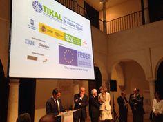 Acto de bienvenida en el Museo Carmen Thyssen Málaga para todos los participantes al 5º Foro Greencities & Sostenibilidad, 2º #ForoTikal y XV Encuentro Iberoamericano de Ciudades Digitales.