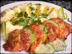 Kuřecí miniřízečky v česnekovém těstíčku | NejRecept.cz No Salt Recipes, Quick Recipes, Chicken Recipes, Vegetarian Recipes, Cooking Recipes, Healthy Recipes, Czech Recipes, Ethnic Recipes, Food 52