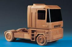 Wood Truck Renault