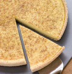 Look at this recipe - Custard Tart - from Andy Bates and other tasty dishes on Food Network. Baked Egg Custard, Custard Tart, Tart Recipes, Dessert Recipes, Cooking Recipes, Melktert Recipe, Milk Tart, Low Fat Desserts, All Bran