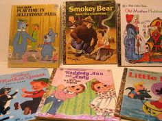Mixed Lot of Vintage -Little Golden Books - Old Mother Hubbard, Baby Mother Goose-Pat a Cake, Raggedy Ann and Andy, Little LULU- Plus More!! by ScrapPantry, $18.00 USD