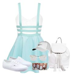 """""""Outfit No.37"""" by amazin-maze on Polyvore featuring Topshop, Vans, Rebecca Minkoff, NIKE, Fendi, pale, outfitoftheday and spring2016"""