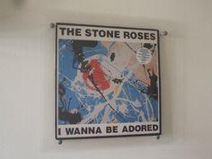 "1X WALL ART 12"" VINYL ALBUM FRAME CLEAR RECORD LP COVERS"