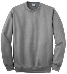 Gildan DryBlend Crewneck Sweatshirt. 12000, Men's, Size: Small, Grey