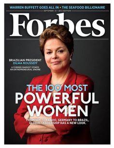 Dilma é eleita a terceira mulher mais poderosa do mundo pela Forbes