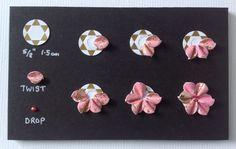 Star of David flower designed by Neil Burley.
