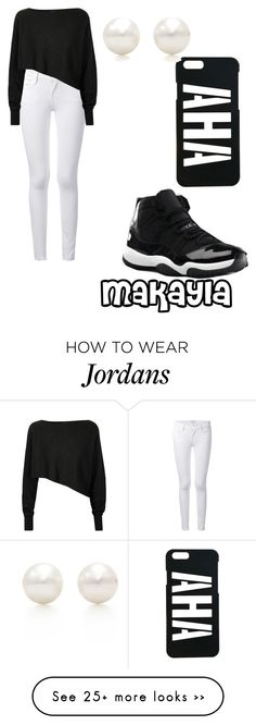 """Untitled #325"" by mferrell1 on Polyvore featuring Frame Denim, Crea Concept, NIKE and Tiffany & Co."
