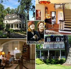 "A Look Inside the Real ""Stepmom"" Movie House in New York Stepmom Movie, Real Stepmom, Stepmom 1998, Abandoned Houses, Old Houses, Home Design, Interior Design, The Family Stone, Christmas Interiors"