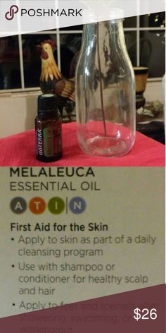Melaleuca essential oil-15ml Cold sores👍and much more benefit from this awesome oil❤**see profile for ordering** love this! Doterra Other #AllAboutColdSores