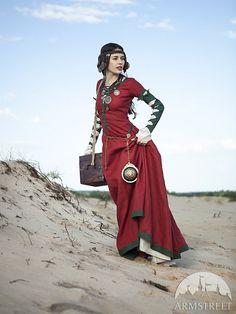 "Steampunk Dress ""The Alchemists daughter"""