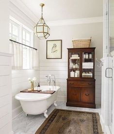 Admirable Vintage Farmhouse Bathroom Remodel Ideas